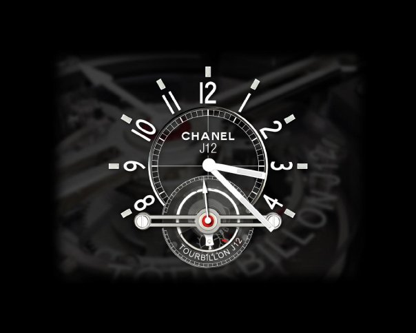 Screensaver Chanel Horloge (2)