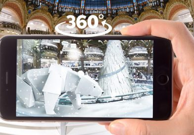 L'expérience digitale immersive des Galeries Lafayette pour Noël